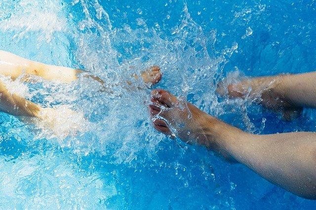 chlazení nohou