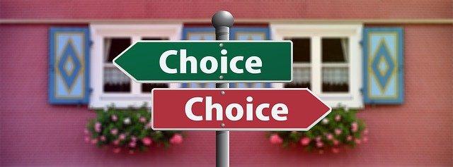 znamení rozhodnutí